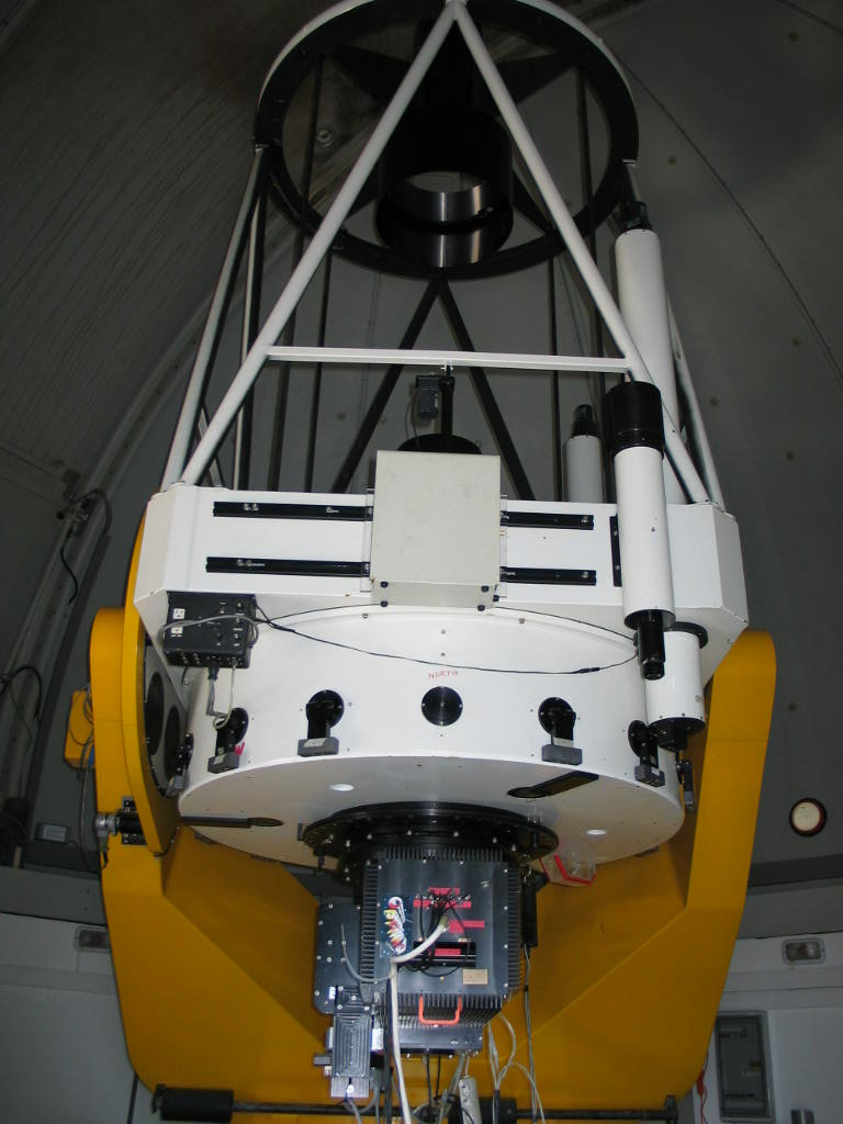 The 1.3m telescope with the OPTIMA instrument.