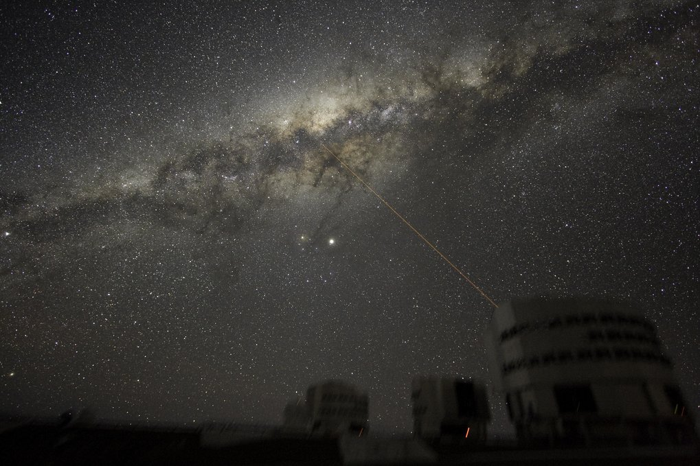 VLT Laser Guide Star ESO