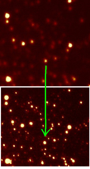 We have been able to lock the AO on the three laser guide stars simultaneously and achieved very soon an impressive good correction on the Luci2 images. With good sky conditions nicely supporting, we have achieved 0.3 to 0.4 arcsecond images in J, H and K, corrected out of 0.7...1 arcsecond seeing, with the best image reaching down to 0.22 arcseconds in Ks with a factor 4 in PSF improvement.
