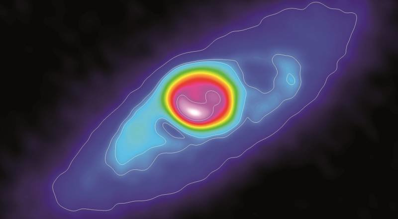 Molecular outflow beyond the disk
