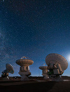 ALMA - a new radio observatory in thin desert air
