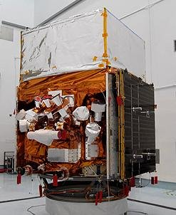 GBM mounted on the Fermi Gamma-ray Space Telescope(image: Ben Cooper)