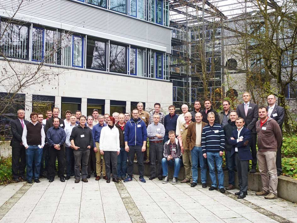 <p>In November, about 50 people met the mechanics of 15 Max Planck institutes to exchange experiences at MPE and MPP.</p>