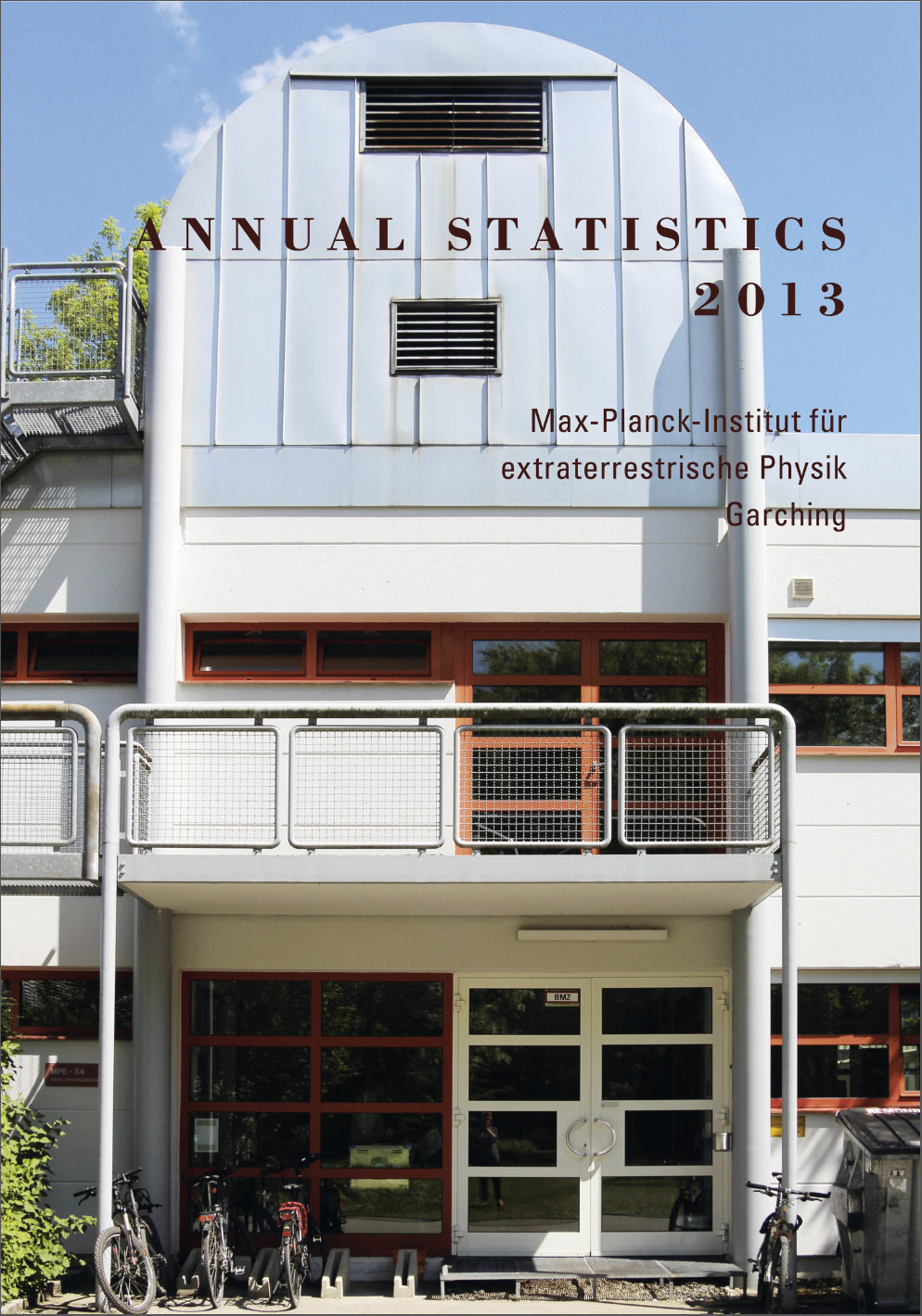 Complete annual statistics of 2013 including the publication lists.