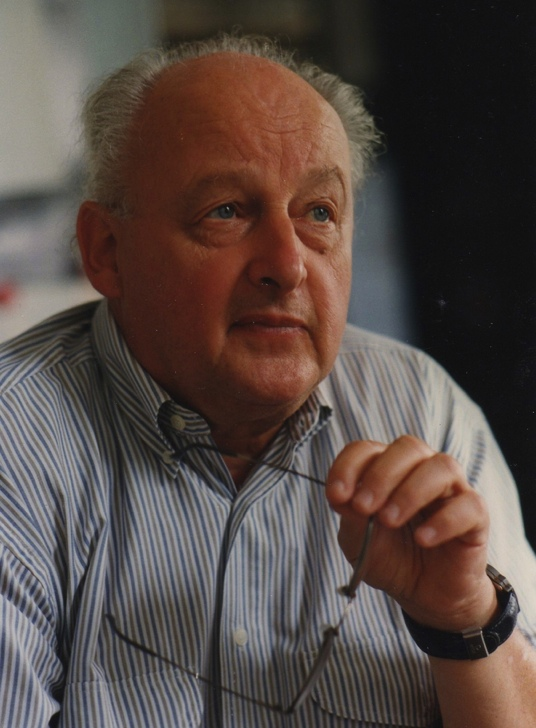 Joachim Trümper, director emeritus at MPE.