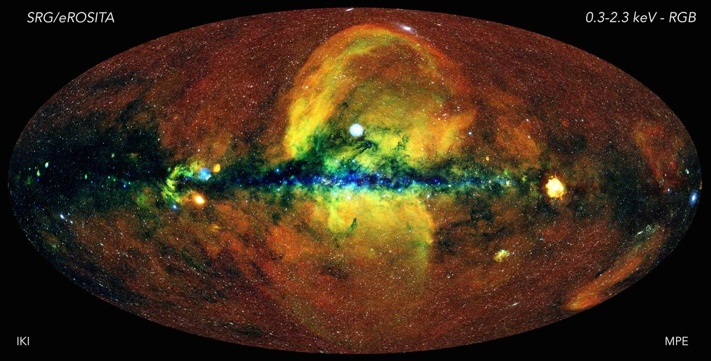 The eROSITA telescope has provided a new, sharp view of hot and energetic processes across the Universe.