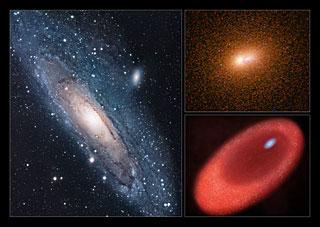 Blaue Sterne in M31