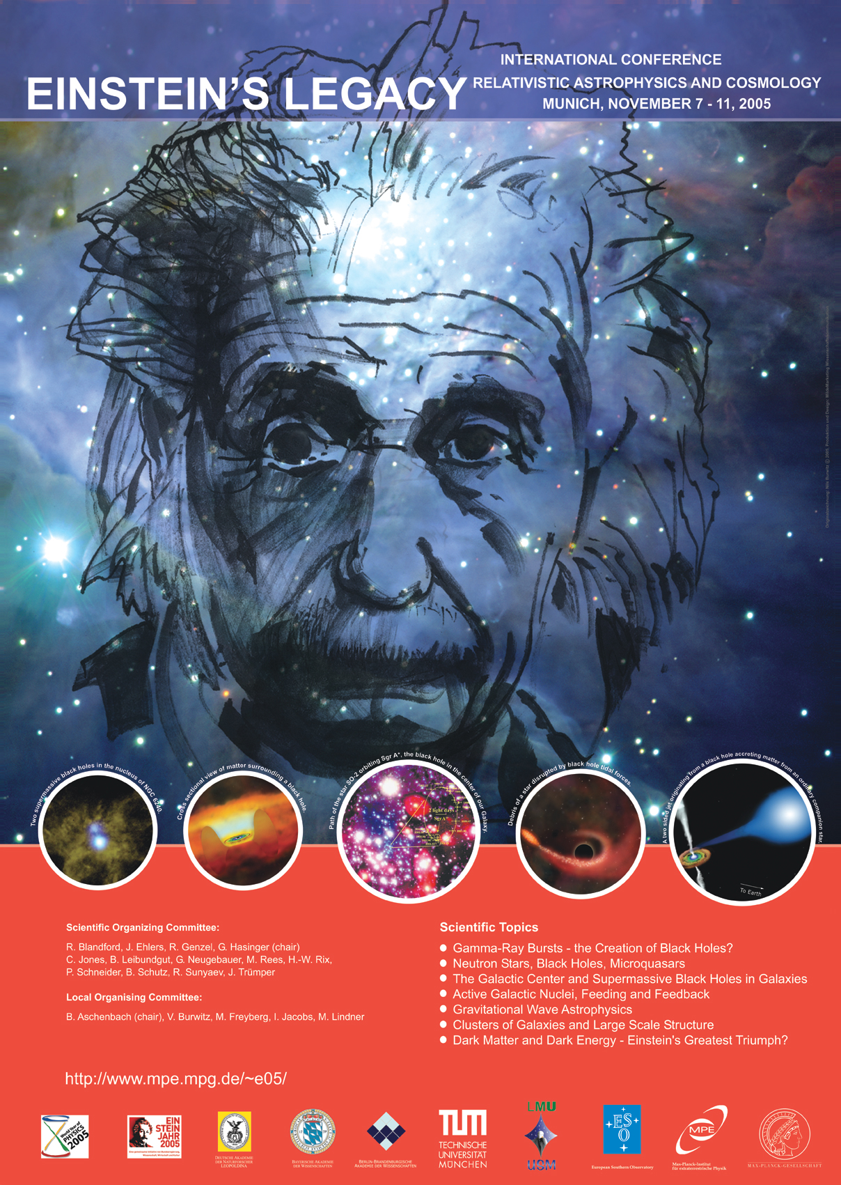 Home Quot Relativistic Astrophysics And Cosmology Einstein S